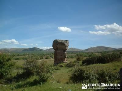 Yacimiento Arqueológico Celtibérico y Romano de Tiermes; sierra de madrid rutas;blog senderismo